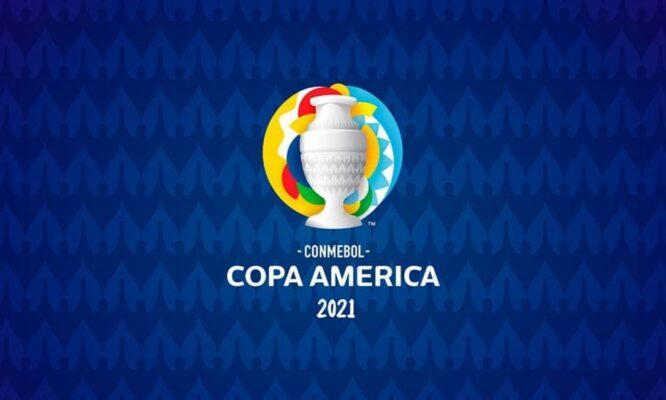 copa américa - logo do torneio 2021
