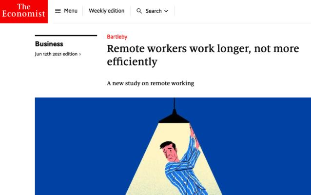 comunicação assíncrona e produtividade